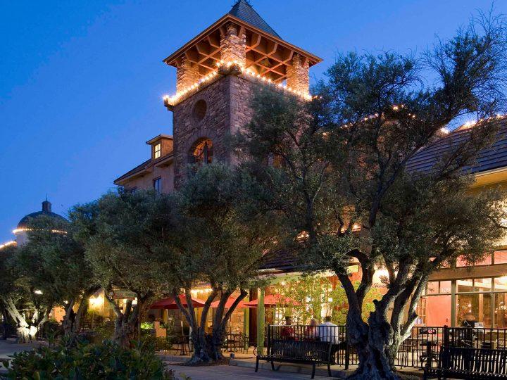 El Dorado Hills Town Center At Night