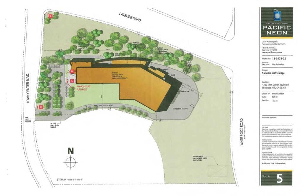A Request For Pre Application For A Self Storage Facility In Three  Development Phases: 1) Conversion Of An Existing 89,470± Square Foot  Building (formerly ...